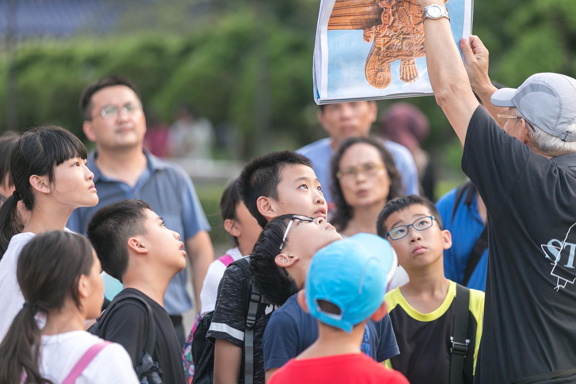利奇馬颱風也擋不住孩子們渴望接觸表演藝術的熱情