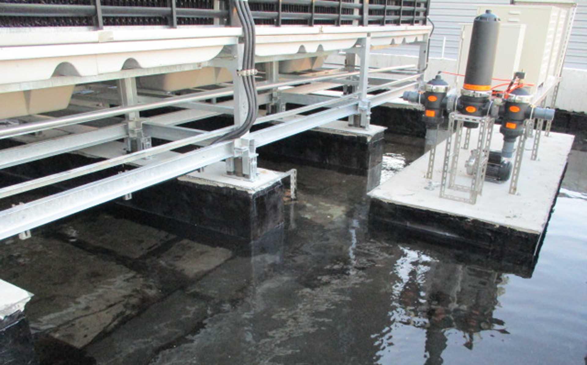 屋頂防水層試水72小時