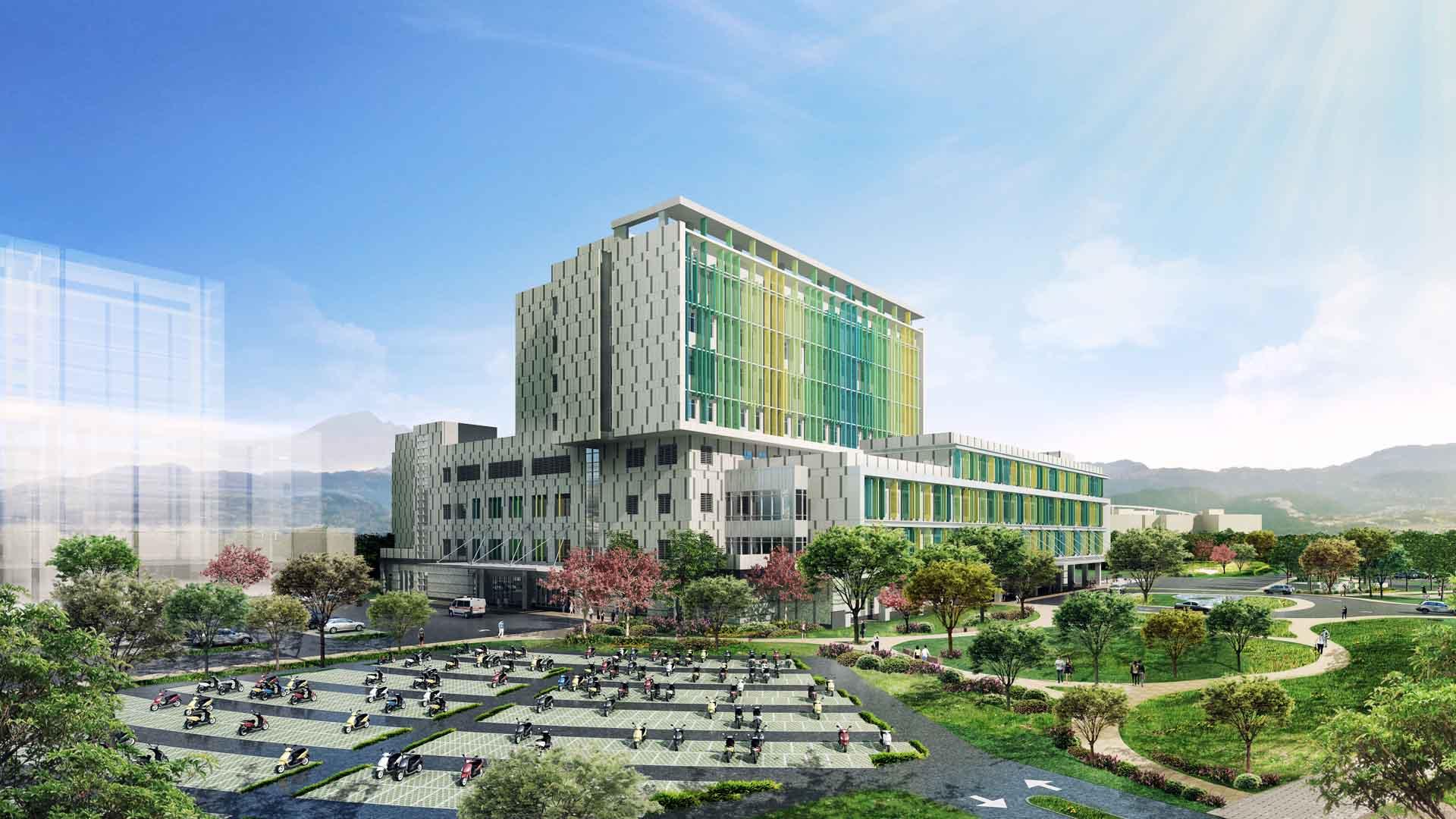 臺大醫院新竹生醫園區分院-建築示意圖1920