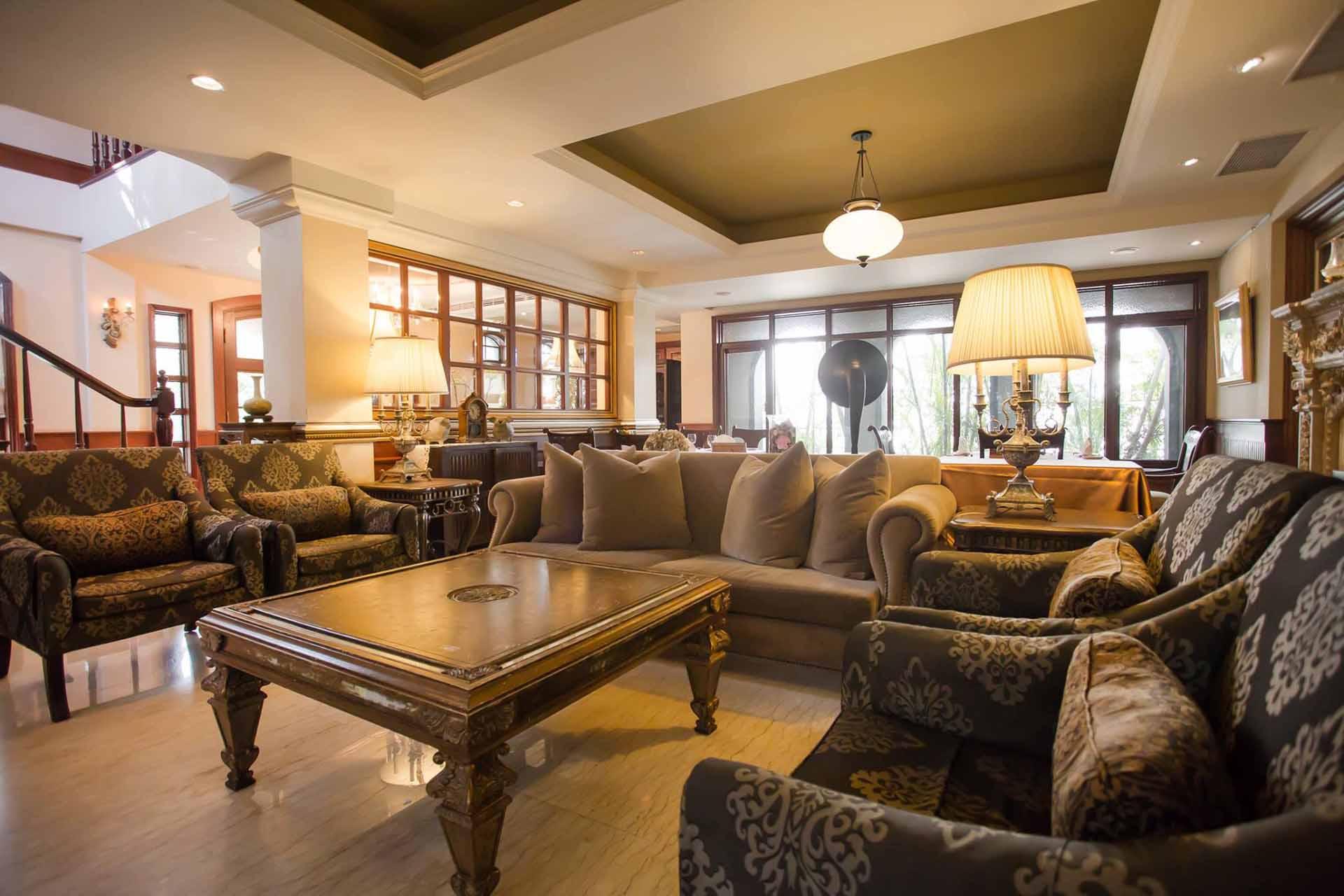 以老上海洋房風情,中山招待所讓顧客享受如同到豪宅作客的樂趣。(圖/中山招待所FB)
