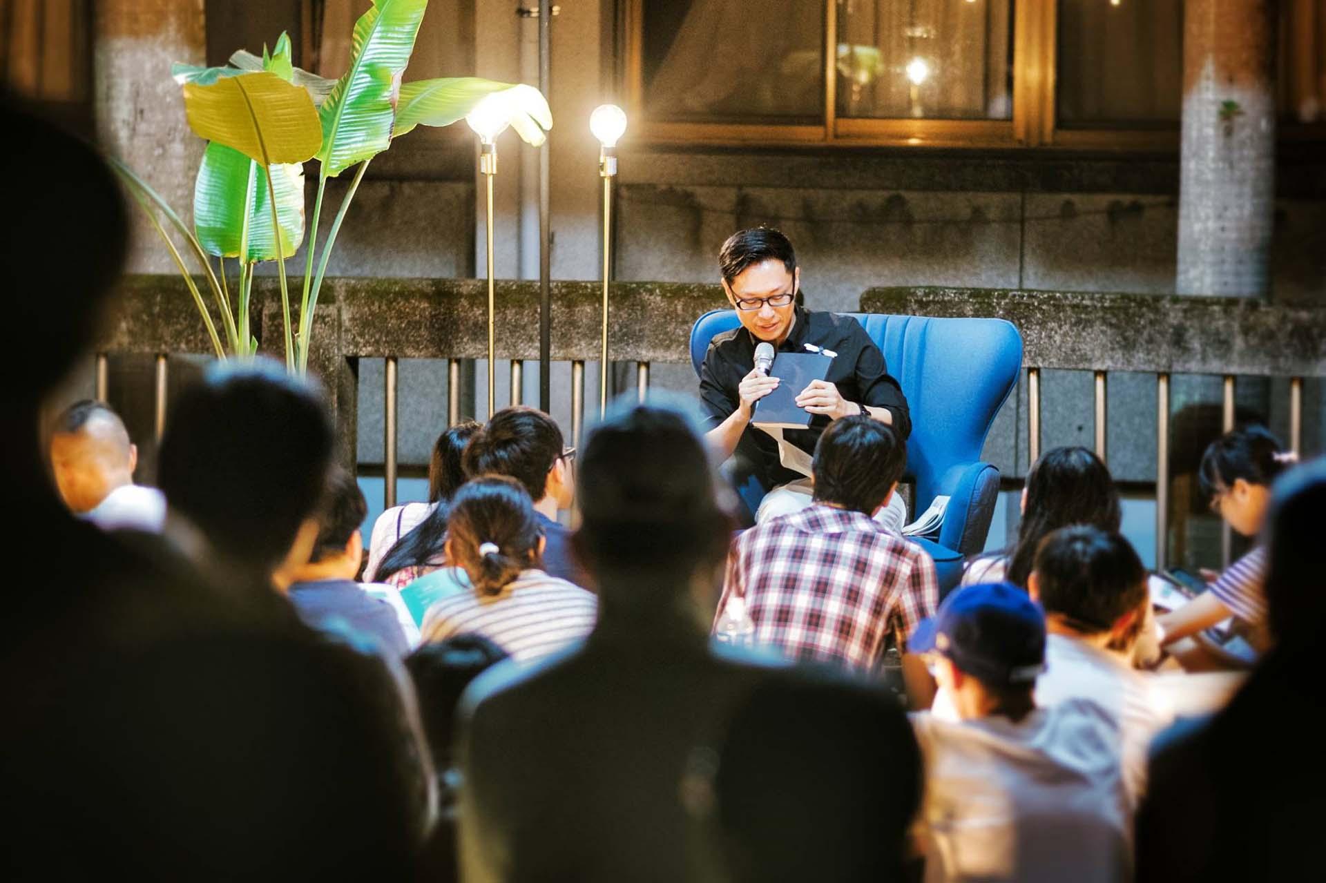 吳東龍說明日本建築空間其來有自的脈絡與精神。